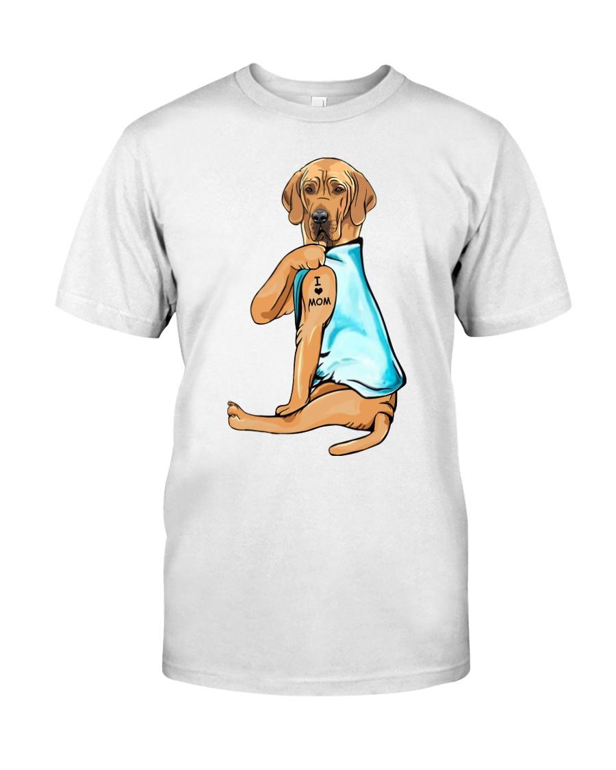 Great Dane I Love Mom Classic T-Shirt