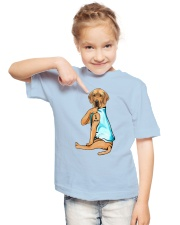Great Dane I Love Mom Youth T-Shirt lifestyle-youth-tshirt-front-2
