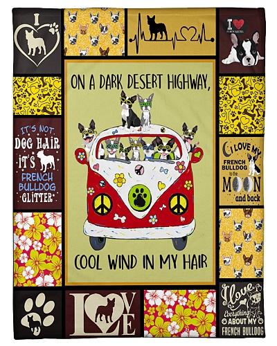 French Bulldog Funny On A Dark Graphic Design
