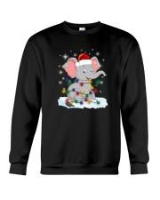 Elephants Light Crewneck Sweatshirt front