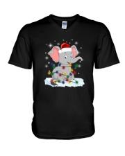 Elephants Light V-Neck T-Shirt thumbnail