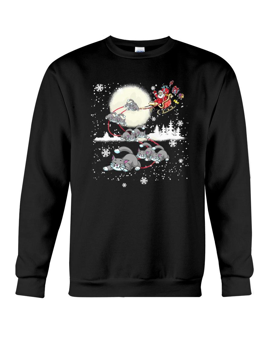 Cat Christmas Crewneck Sweatshirt