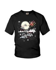 Cat Christmas Youth T-Shirt thumbnail