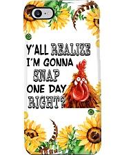 Chicken Sunflower Phonecase Phone Case i-phone-7-case
