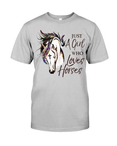 Horse Just A Girl Who