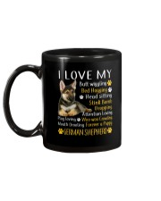 I Love My German Shepherd Mug back