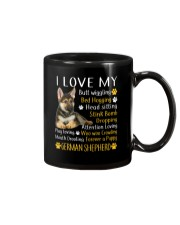 I Love My German Shepherd Mug front