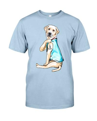 Labrador I Love Dad