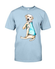 Labrador I Love Dad Classic T-Shirt front