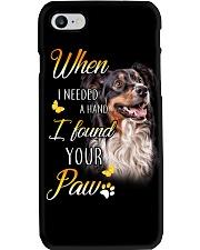 Australian Shepherd Paw Phone Case i-phone-7-case