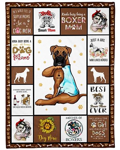 Boxer I Love Mom
