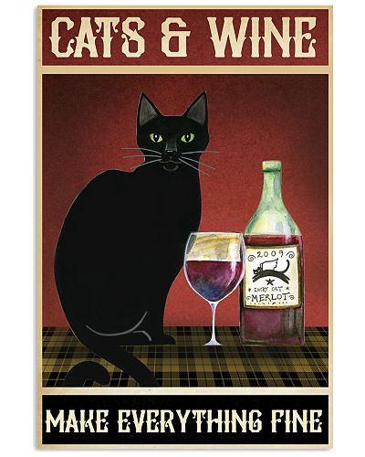Cats and Wine Make Everything Fine