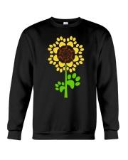 Dachshund Sunflower Crewneck Sweatshirt thumbnail