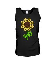 Dachshund Sunflower Unisex Tank thumbnail