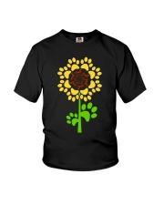 Dachshund Sunflower Youth T-Shirt thumbnail