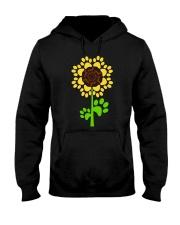 Dachshund Sunflower Hooded Sweatshirt thumbnail