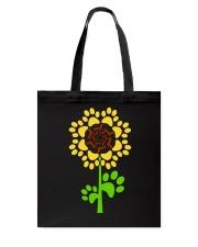 Dachshund Sunflower Tote Bag thumbnail
