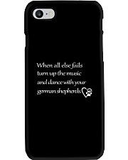 German Shepherd - When All Else Fails Phone Case thumbnail