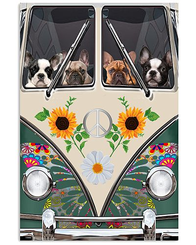 French Bulldog Temp Dog Poster