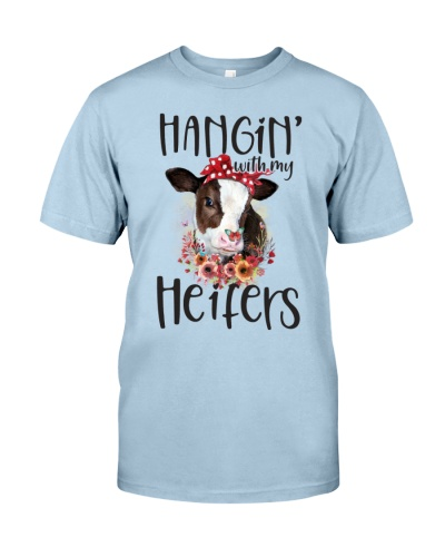 Cow Hangin' With My Heifers