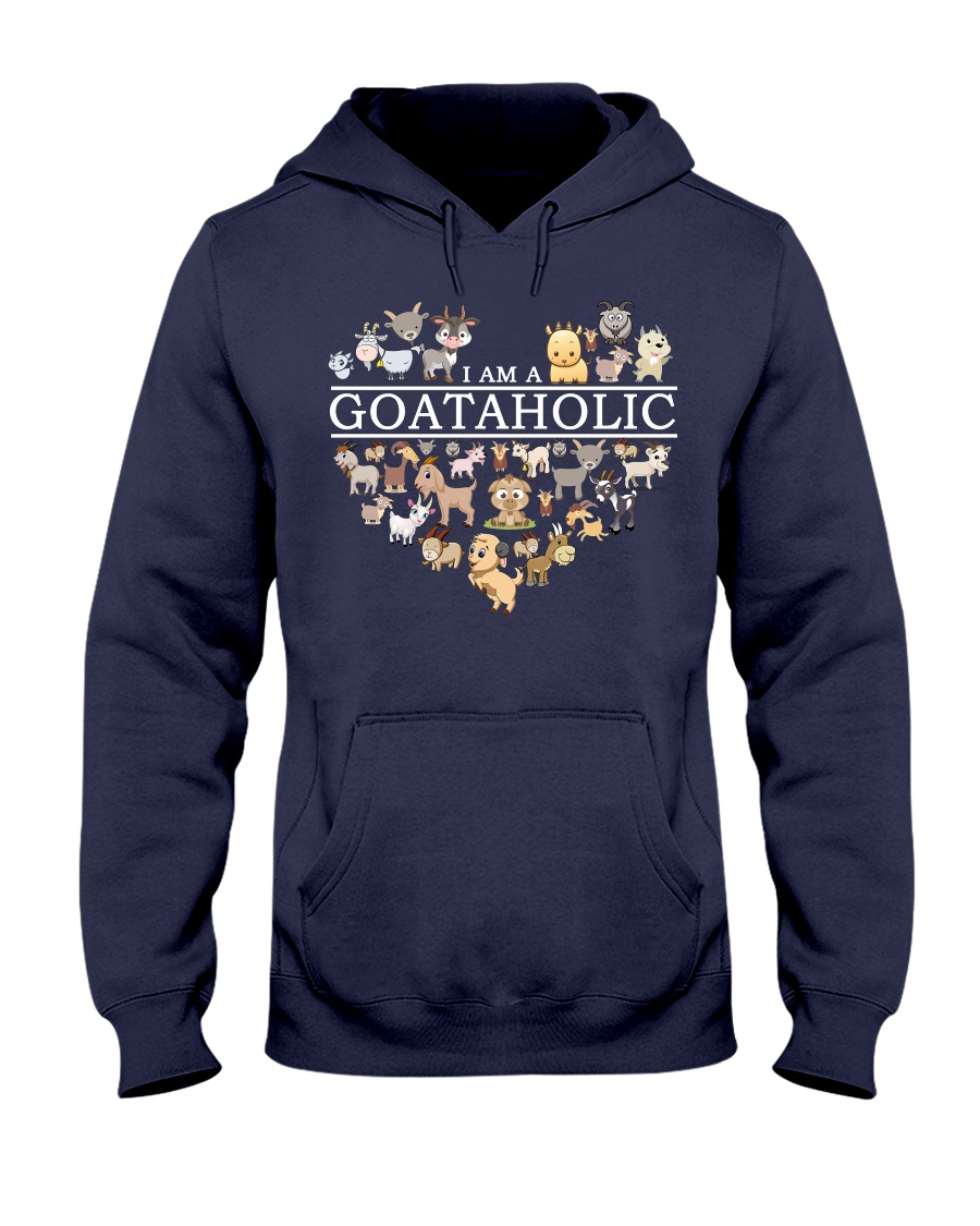 Love Goat Hooded Sweatshirt