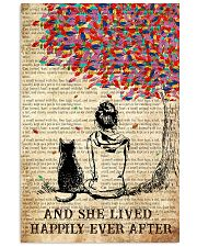 Cat And She Lived Happily Ever After 16x24 Poster front