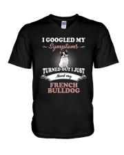 Need my French Bulldog V-Neck T-Shirt thumbnail
