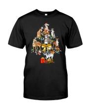 Greyhound Christmas Classic T-Shirt thumbnail