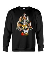 Greyhound Christmas Crewneck Sweatshirt thumbnail