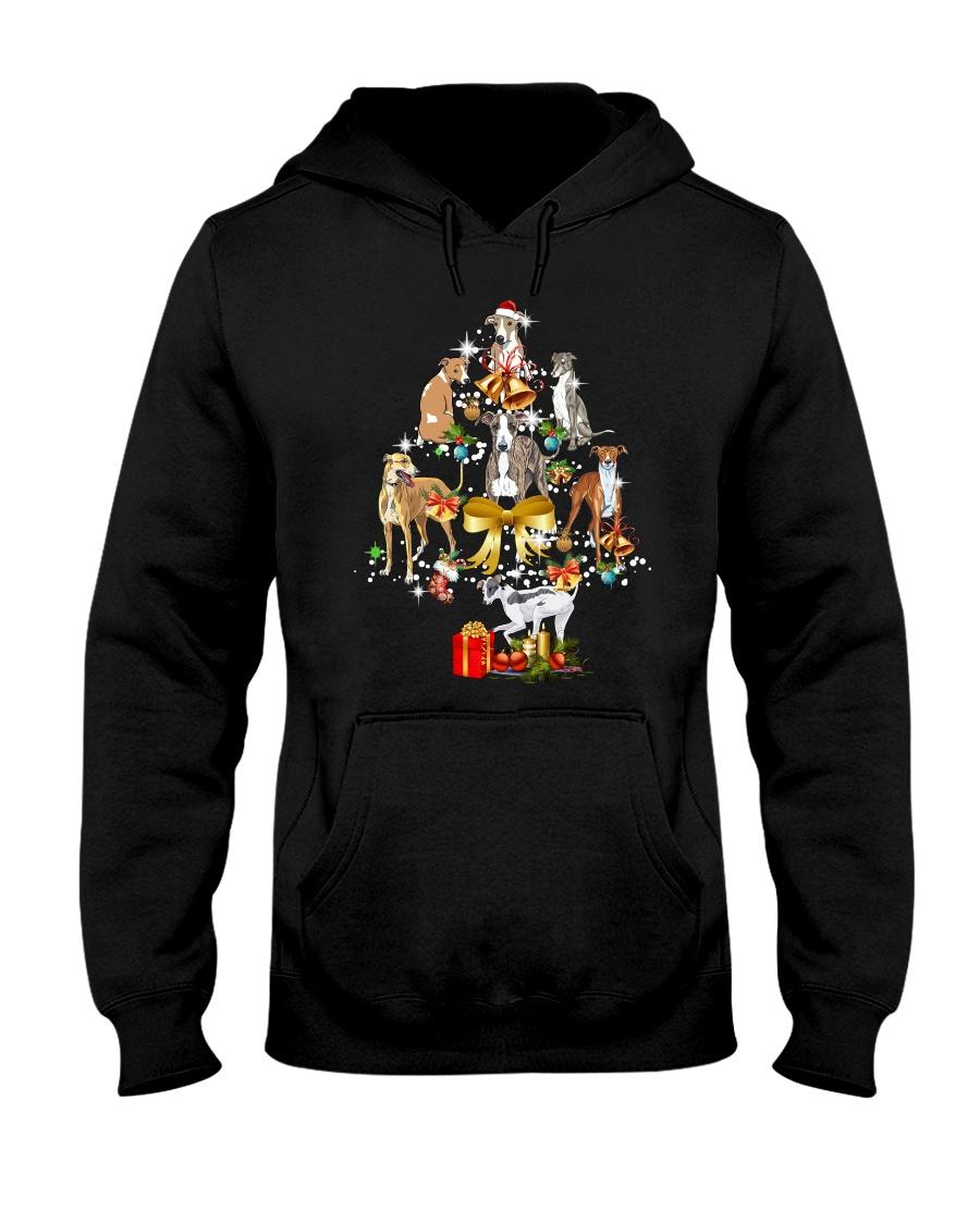 Greyhound Christmas Hooded Sweatshirt