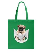 Pug Inside Pocket Tote Bag thumbnail