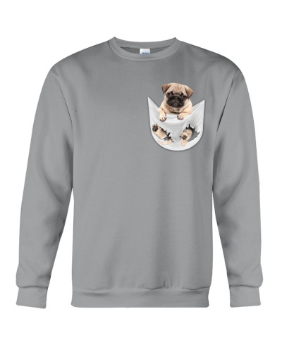 Pug Inside Pocket