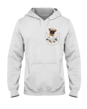 Pug Inside Pocket Hooded Sweatshirt thumbnail