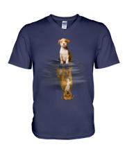 Pit Bull Dream V-Neck T-Shirt thumbnail