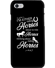 I'm Either Riding Horses Phone Case thumbnail