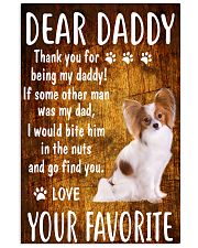 Dear Papillon Daddy 11x17 Poster front