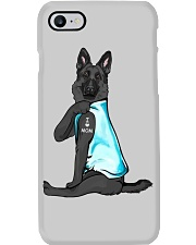 Black German Shepherd I Love Mom Phone Case thumbnail