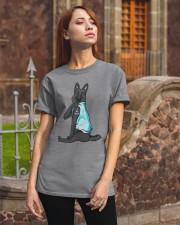 Black German Shepherd I Love Mom Classic T-Shirt apparel-classic-tshirt-lifestyle-06