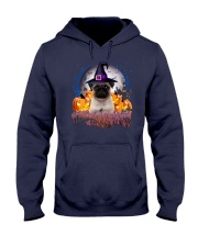 I love pug Hooded Sweatshirt thumbnail