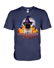 I love pug V-Neck T-Shirt thumbnail
