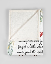 """To My Mummy I've Only Been With You Fox Blanket Small Fleece Blanket - 30"""" x 40"""" aos-coral-fleece-blanket-30x40-lifestyle-front-17"""