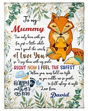 "To My Mummy I've Only Been With You Fox Blanket Small Fleece Blanket - 30"" x 40"" front"