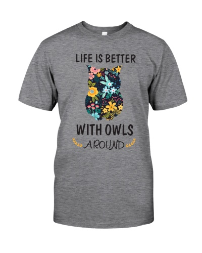 Life Is Better With Owls Around