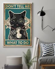 Cat Don't Tell Me Poster 16x24 Poster lifestyle-poster-1