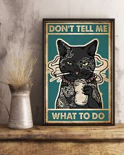 Cat Don't Tell Me Poster 16x24 Poster lifestyle-poster-3