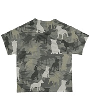 Staffordshire Bull Terrier Camouflage All-over T-Shirt back