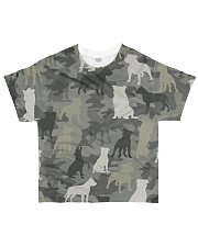 Staffordshire Bull Terrier Camouflage All-over T-Shirt front