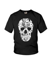 Dalmatian Skull Youth T-Shirt thumbnail