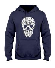 Dalmatian Skull Hooded Sweatshirt thumbnail