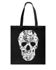 Dalmatian Skull Tote Bag thumbnail